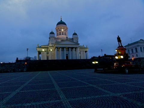 Helsinki Domplatz