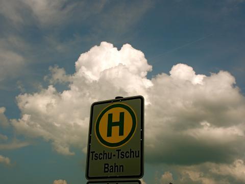 Tschu-Tschu-Bahn Landesgartenschau Bayreuth