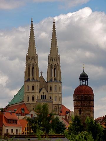 Altstadt Görlitz Silhouette