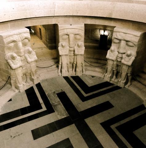Totenwächter im Völkerschlachtdenkmal