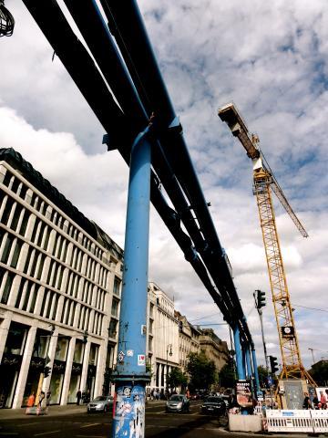 Baustelle Unter den Linden