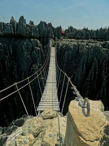 Hängebrücke Great Tsingys