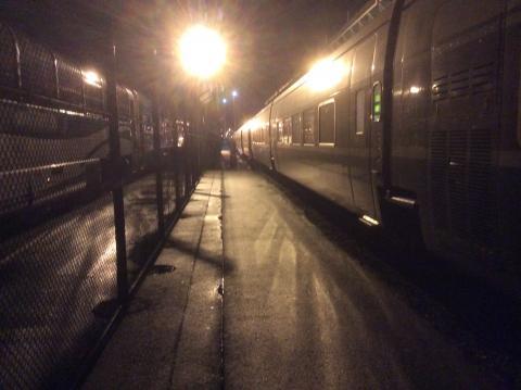 Amtraktrain von Vancouver nach Seattle